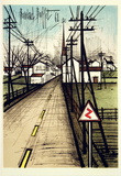 La Route vers le Village Collectable Print by Bernard Buffet