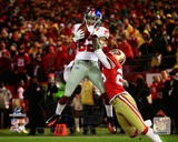 Mario Manningham Touchdown Catch NFC Championship Game Photo