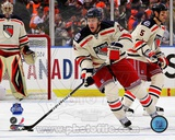 Derek Stepan 2012 NHL Winter Classic Action Photo
