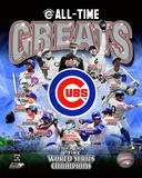 Chicago Cubs All Time Greats Composite Photographie