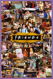 Friends - Montage Print