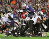 Tom Brady Touchdown run AFC Championship Game Photo