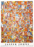 Numbers in Color Collectable Print by Jasper Johns
