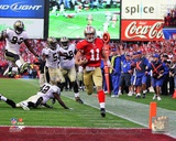 Alex Smith Touchdown Run NFC Divisional Playoff Game Action Photo