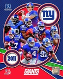 New York Giants 2011 NFC East Division Champions Team Composite Photo