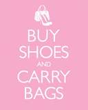 Buy Shoes & Carry Bags Posters