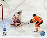 Henrik Lundqvist 2012 NHL Winter Classic Penalty Shot Save Photo