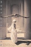 Eagle with Dancer, Santa Monica 高品質プリント : グレゴリー・コルベール