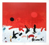 Primeval Print by Adolph Gottlieb