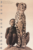 Child with Cheetah, Santa Monica Poster von Gregory Colbert
