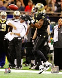 Marques Colston 2011 NFC Wild Card Playoff Action Photo