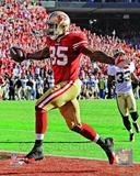 Vernon Davis Touchdown Catch NFC Divisional Playoff Game Action Photo