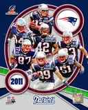 New England Patriots 2011 AFC Champions Team Composite Photo