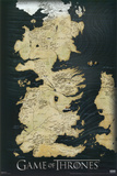Game of Thrones - Map Prints