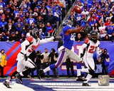 Mario Manningham Touchdown Catch 2011 NFC Wild Card Playoff Action Photo