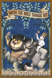 Where The Wild Things Are - Max Riding Wild Thing Print by Maurice Sendak