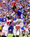 Hakeem Nicks Touchdown Catch 2011 NFC Wild Card Playoff Action Photo