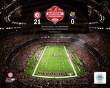 The Superdome University of Alabama Crimson Tide 2012 BCS National Champions Photo