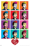 I Love Lucy - Pop Art Print