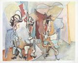 Three Musicians Poster by Max Weber