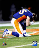 Tim Tebow after the Broncos won their 2011 AFC Wild Card Playoff Game Photo