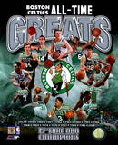 Boston Celtics All Time Greats Composite Fotografía