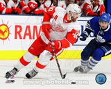Henrik Zetterberg 2011-12 Action Photo