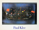Adventurer Ship Collectable Print by Paul Klee