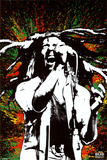 Bob Marley - Paint Splash Photographie