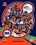 Denver Broncos 2011 AFC West Division Champions Team Composite Photo