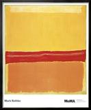 Nummer 5 Kunstdrucke von Mark Rothko