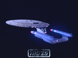 Star Trek: The Next Generation Starship USS Enterprise NCC-1701-D Print