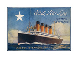 Titanic-White Star Line Affiches