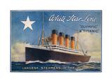 Titanic-White Star Line Kunstdrucke