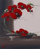 Orquídea pluma I Posters por Olivier Tramoni