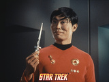 "Star Trek: The Original Series, Sulu's Counterpart in ""Mirror, Mirror"" Photo"
