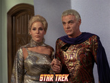 "Star Trek: The Original Series, Rayna and Flint in ""Requiem for Methuselah"" Photo"