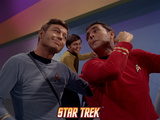 Star Trek: The Original Series, Scotty, Dr. McCoy and Chekov Photo