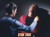 "Star Trek: The Original Series, Spock's Counterpart in ""Mirror, Mirror"" Photo"