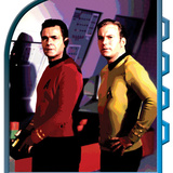 Star Trek: The Original Series, Captain Kirk and Lt. Lemli Print