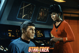 Star Trek: The Original Series, Spock and Uhura Photo