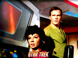 Star Trek: The Original Series, Uhura and Captain James T. Kirk Photo