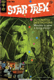 Star Trek: The Original Series Cover, Mr Spock and Automated Destroyers Photo