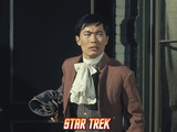 "Star Trek: The Original Series, Sulu in ""Return of the Archons"" Photo"