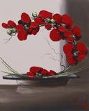 Olivier Tramoni - Plume Orchid II - Poster