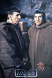 Star Trek: The Next Generation, Commander William T. Captain Jean-Luc Picard with Spock Photo