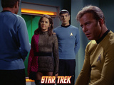 Star Trek: The Original Series, Captain Kirk and Mr. Spock in &quot;The Enterprise Incident&quot; Print