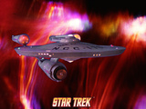Star Trek: The Original Series, NCC-1701 the USS Enterprise Print