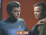 Star Trek: The Original Series, Dr. McCoy with his Hand on Captain Kirk's Shoulder Photo
