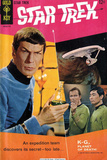Star Trek: The Original Series Cover, Mr. Spock, Captain Kirk and Sulu Prints
